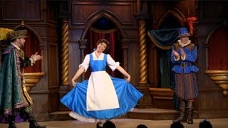 Download FULL Beauty and the Beast show in Fantasy Faire at Disneyland Video