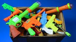 Download Box Full Of Toys! My Massive Gun Toys Arsenal - Real & Fake Nerf Guns Toys & Military equipments Video