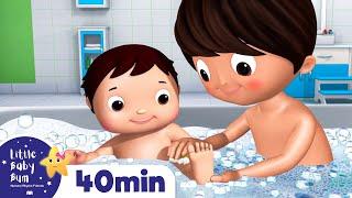 Download Bath Time | Nursery Rhymes & Kids Songs | Little Baby Bum | Cartoons For Kids | +More Nursery Rhymes Video