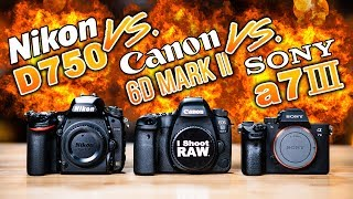 Download SONY a7 III vs NIKON D750 vs CANON 6D Mark II: Which To Buy Video