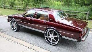 Download WhipAddict: FOR SALE: 89' Caprice on 28s, 04' Tahoe on 30s, 86' Caprice Brougham. Atlanta, GA Video