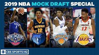 Download RJ Barrett to the KNICKS?   2019 NBA Mock Draft Special   CBS Sports HQ Video