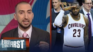 Download Nick Wright on Celtics eliminating 76ers, Why Philly needs LeBron | NBA | FIRST THINGS FIRST Video