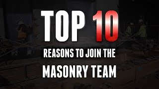 Download Top 10 Reasons to Join the Masonry Team Video