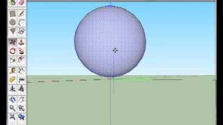 Download Create a ball/sphere shape in sketchup Video