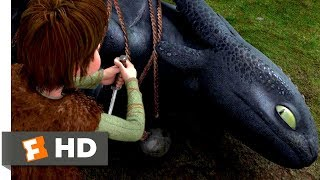 Download How to Train Your Dragon (2010) - Freeing The Night Fury Scene (1/10) | Movieclips Video