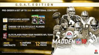 Download Madden 18 - Pre Order Elite Players Revealed! Madden NF 18 Team Play Official?!?! Video