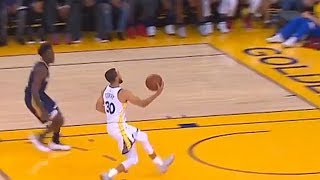 Download Stephen Curry Fools The Entire Warriors Crowd and Pelicans Team With Spin Pass To Kevin Durant! Video