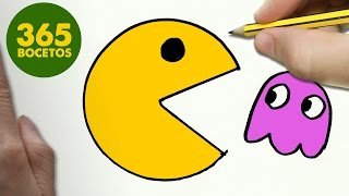 Download COMO DIBUJAR UN PAC-MAN KAWAII PASO A PASO - Dibujos kawaii faciles - How to draw a PAC-MAN Video