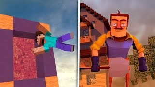 Download Minecraft - How to Make a Portal to HELLO NEIGHBOR! (Hello Neighbor in Minecraft) Video
