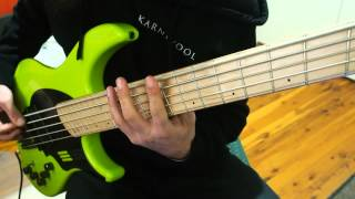 Download Northlane - Rot Alex Milovic Bass Play-Through Video