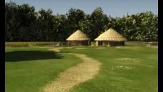 Download Bronze Age houses at Mitchelstown, Co. Cork, Ireland Video