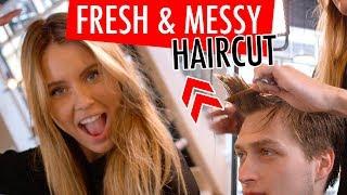 Download Short & Messy Undercut - Best Men's Hairstyles Video
