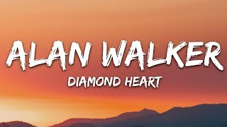 Download Alan Walker - Diamond Heart (Lyrics) feat. Sophia Somajo Video