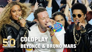 Download Coldplay's FULL Pepsi Super Bowl 50 Halftime Show feat. Beyoncé & Bruno Mars! | NFL Video