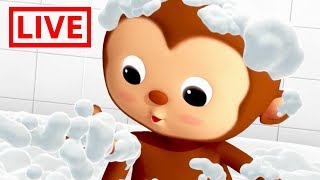 Download Little Baby Bum - Live 🔴| BATH SONG | Nursery Rhymes for Babies | ABC Songs and More Live Stream Video