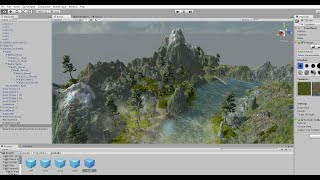 Download Creating a simple Terrain in Unity3D Video