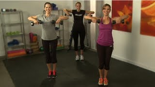 Download Tone Arms in 10 Minutes, Workout with Holly Perkins, Class FitSugar Video