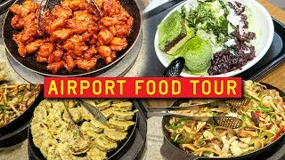 Download AIRPORT FOOD TOUR in South Korea 🇰🇷✈️ Incheon International Video