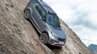 Download Land Rover Discovery SVX (2018) Ultimate Off-Road Car Video