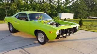 Download 73 cuda 416 stroker maiden voyage Video