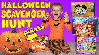 Download Surprise Halloween Scavenger Hunt!! Video