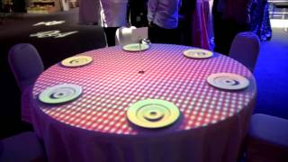 Download Table projection mapping Video
