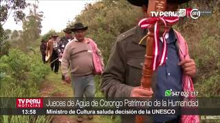 Download Jueces del Agua de Corongo Patrimonio de la Humanidad Video