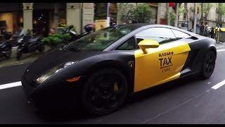 Download ¿Cómo reaccionarías si pides un taxi y te aparece un Lamborghini? Video