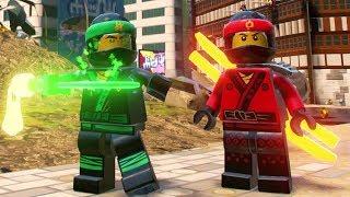 Download The LEGO Ninjago Movie Video Game - Ninjago City Free Roam (Kai, Cole, Jay, Lloyd, Zane & Nya) Video