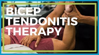 Download Bicep Tendonitis Therapy | Physical Therapy Exercises Video