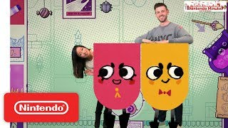 Download Snipperclips Plus – Cut it Out Together! Co-Op Puzzling – Nintendo Minute Video