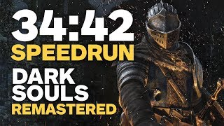 Download Dark Souls Remastered Finished In 34 Minutes - Speedrun Video