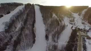 Download Drone Aerial Tour of Holiday Valley Ski Resort - Ellicottville, NY Video