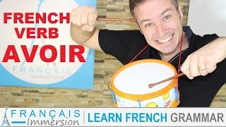 Download AVOIR Conjugation & Meaning (to have) present tense + FUN! (Learn French Verbs with Fun) Video