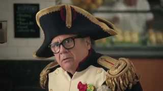 Download Frank in the latest Nespresso Commercial - Danny Devito and George Clooney Video