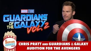 Download Chris Pratt & Guardians of the Galaxy Audition for Avengers! Video