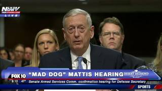 Download OPENING STATEMENT: James ″Mad Dog″ Mattis Speaks @ Confirmation Hearing for Secretary of Defense-FNN Video