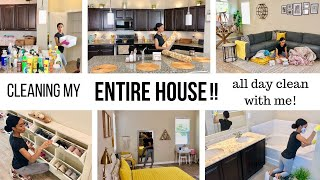 Download WHOLE HOUSE CLEANING MOTIVATION // ALL DAY CLEAN WITH ME // Jessica Tull cleaning Video