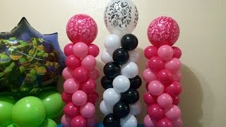 Download Easy Mini Balloon Columns! Video