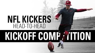 Download NFL Placekickers Go Head-to-Head | Kickoff Competition | Kohl's Kicking Camps Video