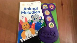 Download Baby Einstein Animal Melodies Book with sounds Video