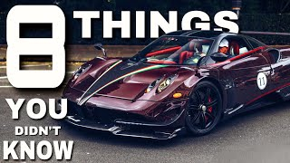 Download 8 THINGS YOU DIDN´T KNOW about the PAGANI HUAYRA BC | All 27 of 20 BCs?! Video