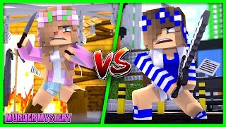Download SISTER V SISTER| KELLY VS CARLY| WHO WILL SURVIVE? | Minecraft Little Kelly Plays Video