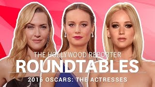 Download Jennifer Lawrence, Brie Larson, Kate Winslet & More Actresses on THR's Roundtables | Oscars 2016 Video