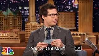 Download Andy Samberg and Jimmy Play 5-Second Summaries Video