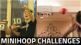 Download CRAZY MINIHOOP BASKETBALL CHALLENGES!! Video