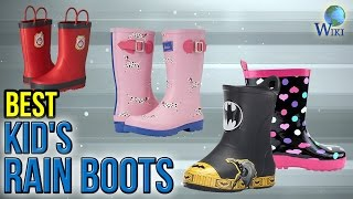 Download 10 Best Kid's Rain Boots 2017 Video