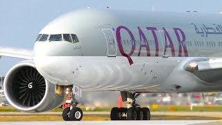 Download WORLD'S LONGEST FLIGHT Diverts to Melbourne Airport | 2x Qatar Airways 777-200LR Landing & Takeoff Video