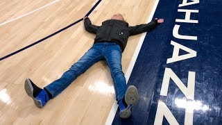 Download Laying on an NBA Basketball Court! Video